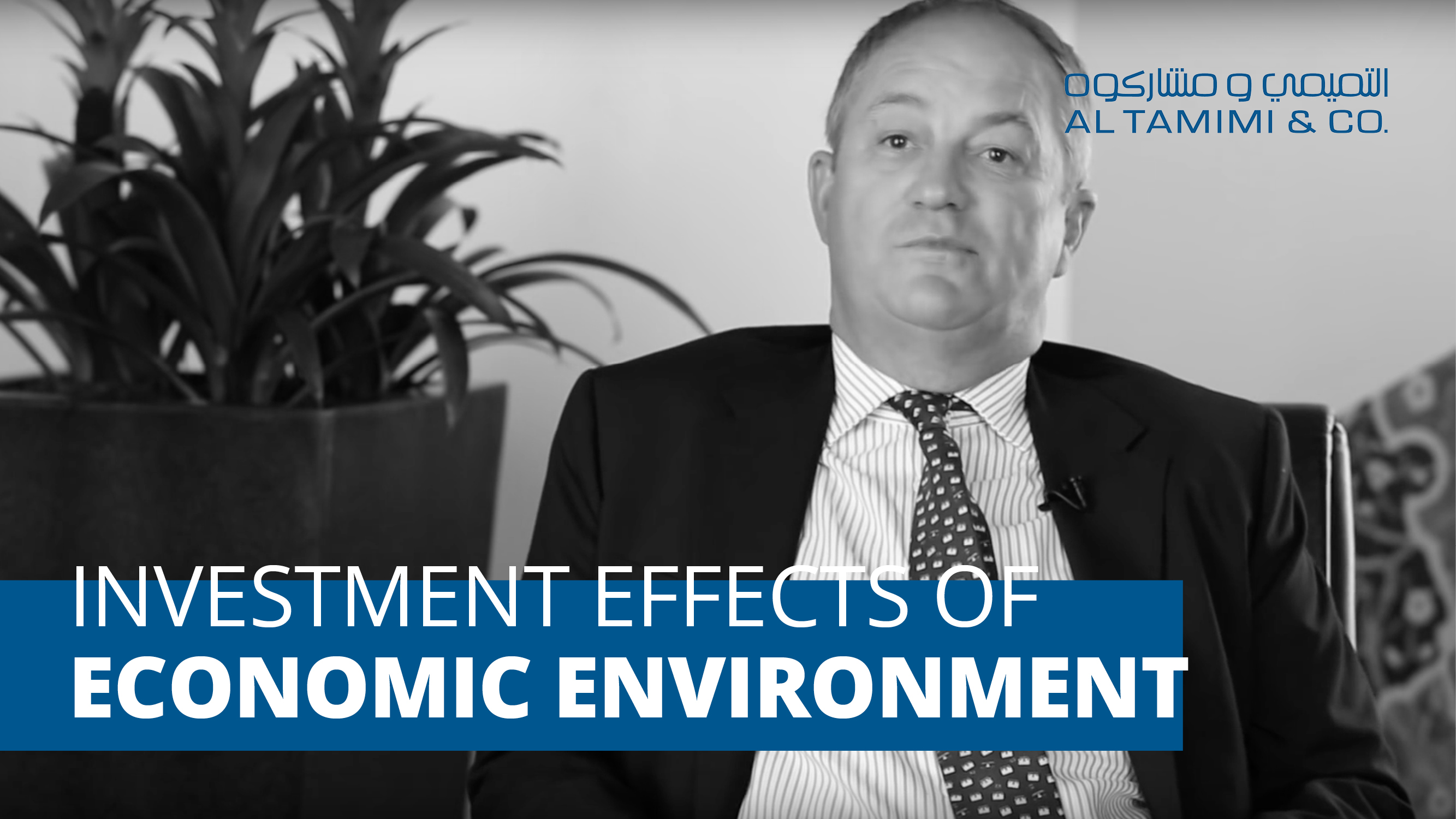The effect of the economic environment on investment in the Middle East