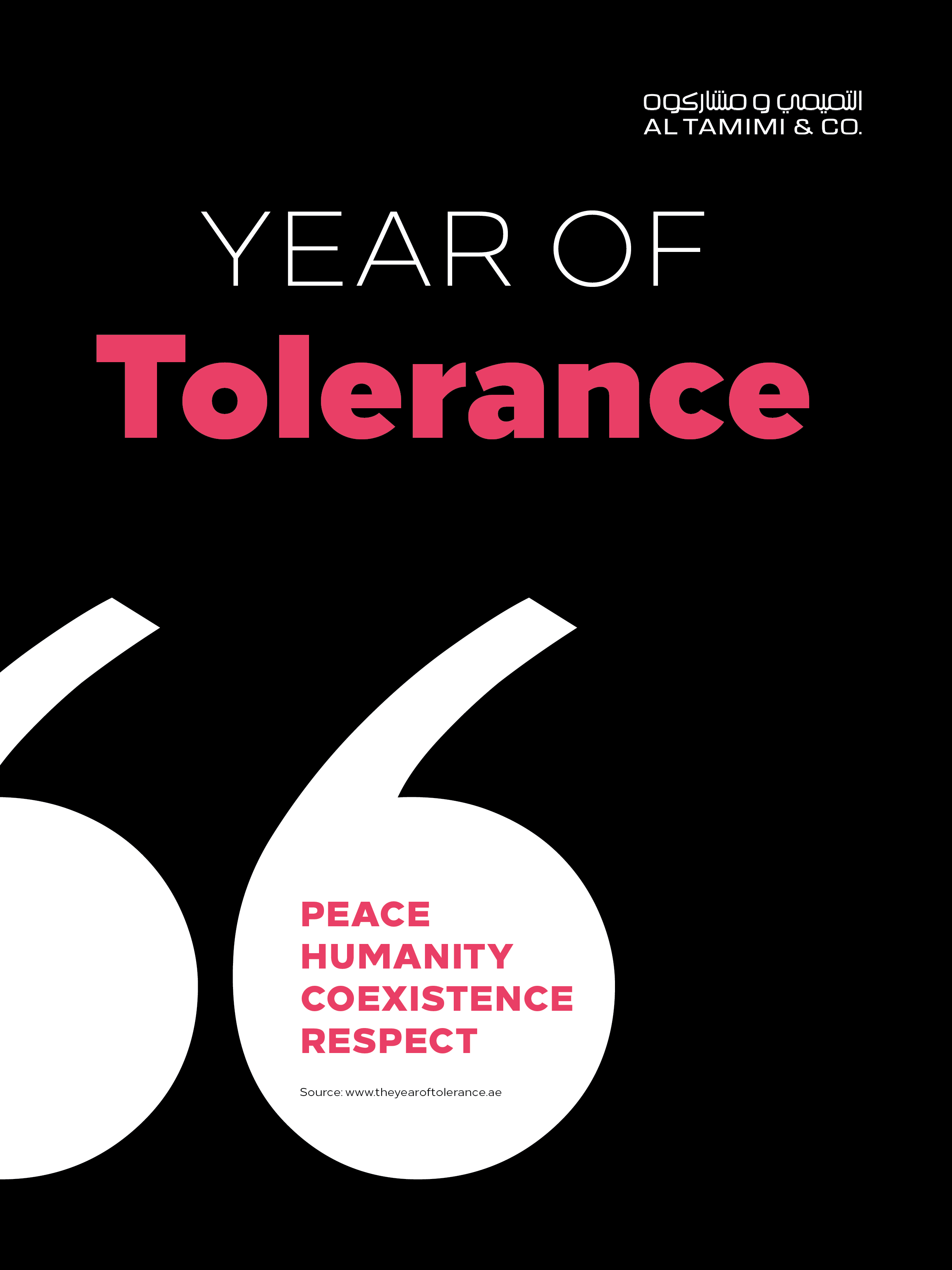 Al Tamimi & Company - UAE Year of Tolerance - App2