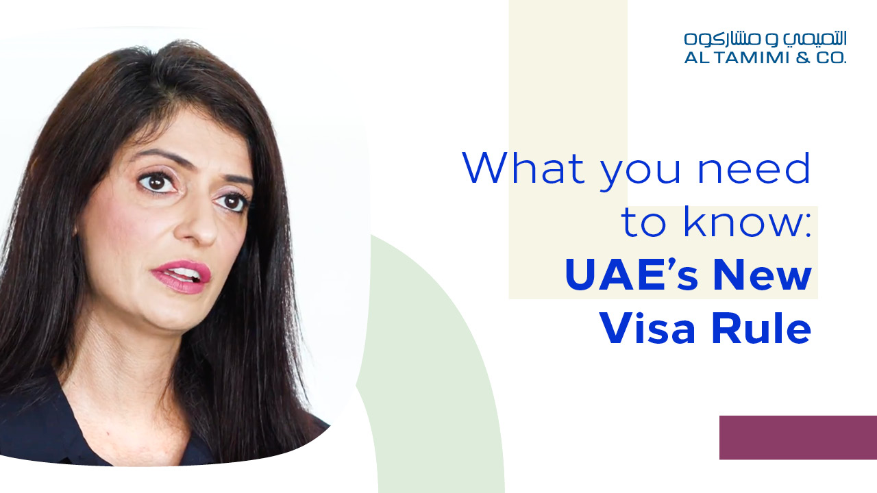 UAE's New Visa Rule: What you need to know