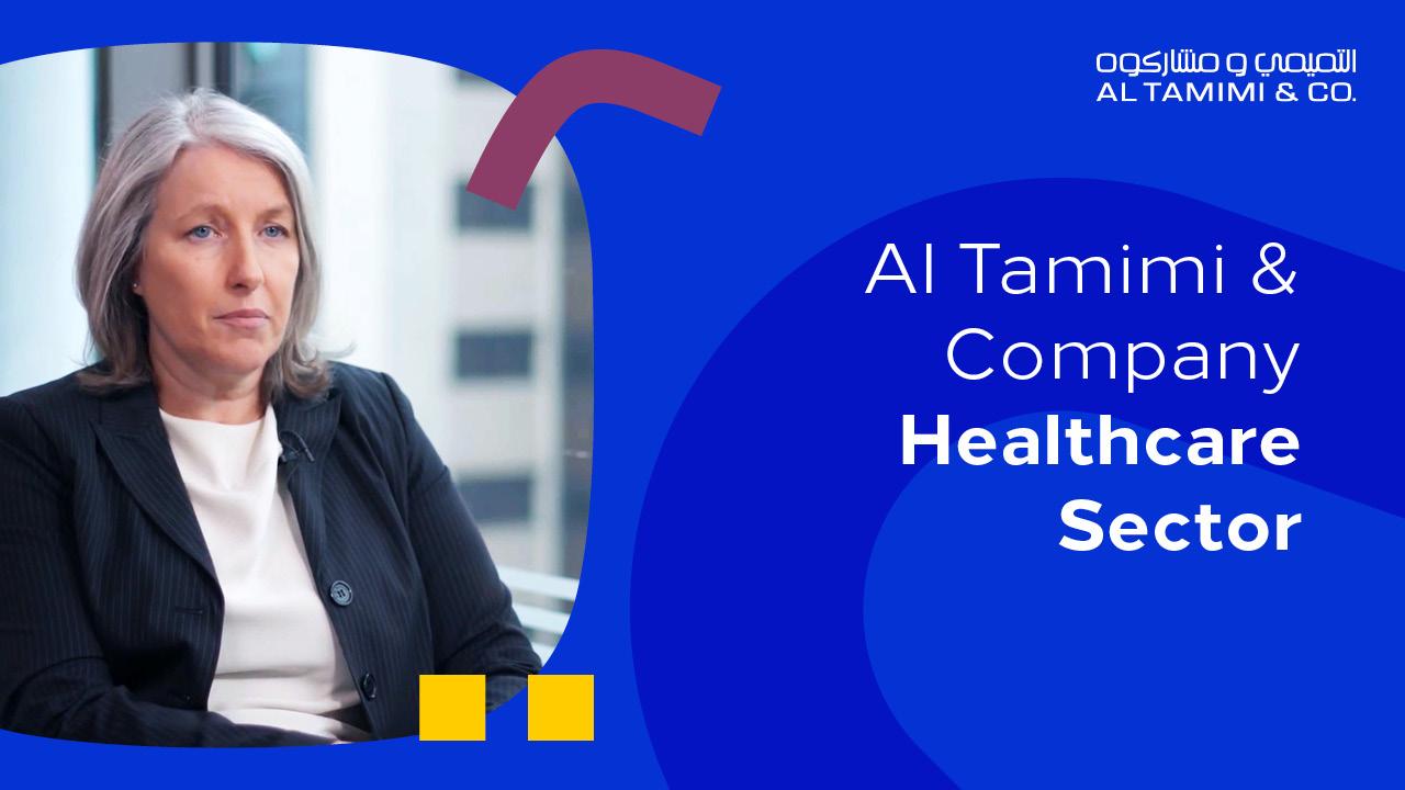 Spotlight on the Al Tamimi & Company Healthcare Sector
