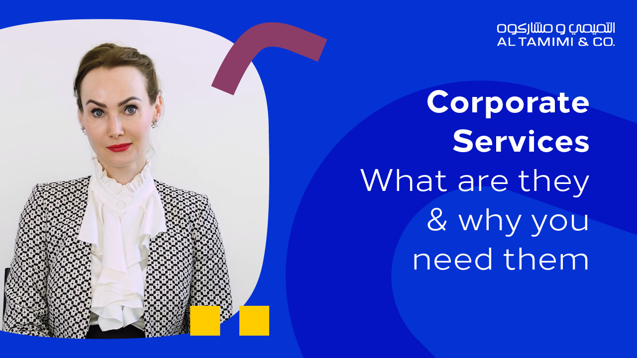 Corporate Services: What are they and why you need them