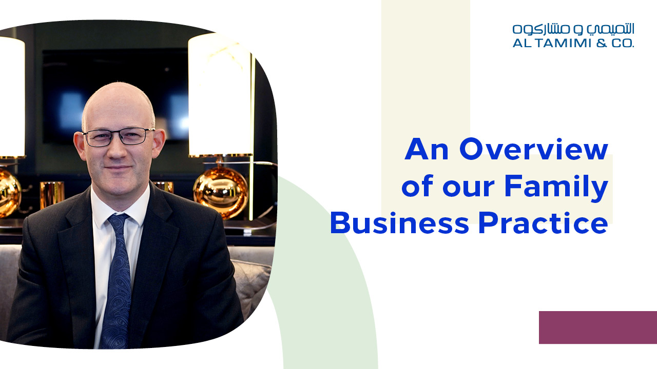 An Overview of our Family Business Practice