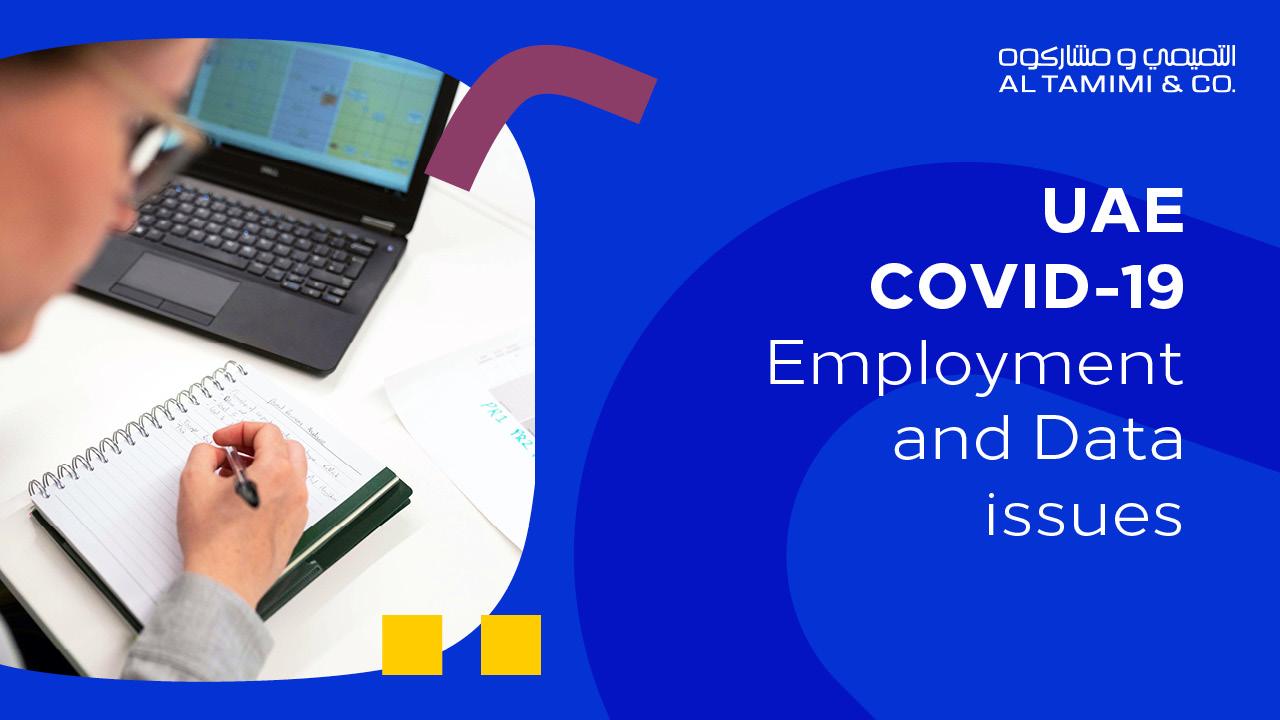 Webinar: UAE COVID-19 Employment and Data issues