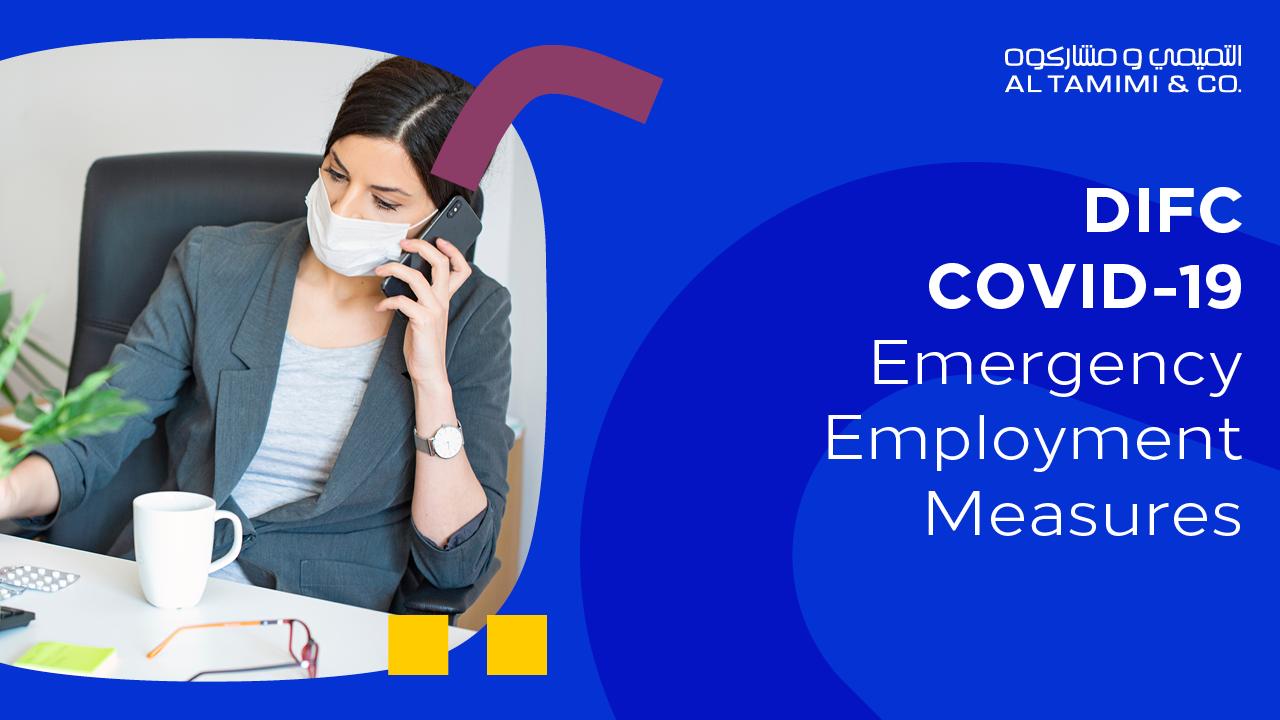 Webinar: DIFC COVID-19 Emergency Employment Measures