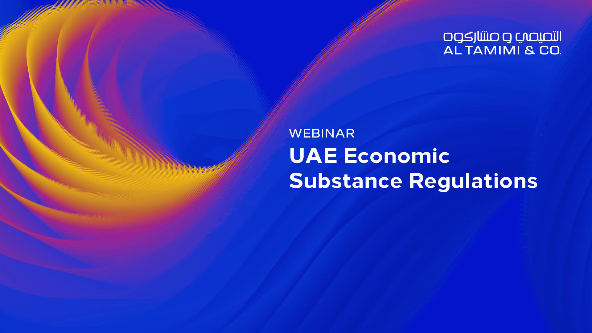 UAE Economic Substance Regulations