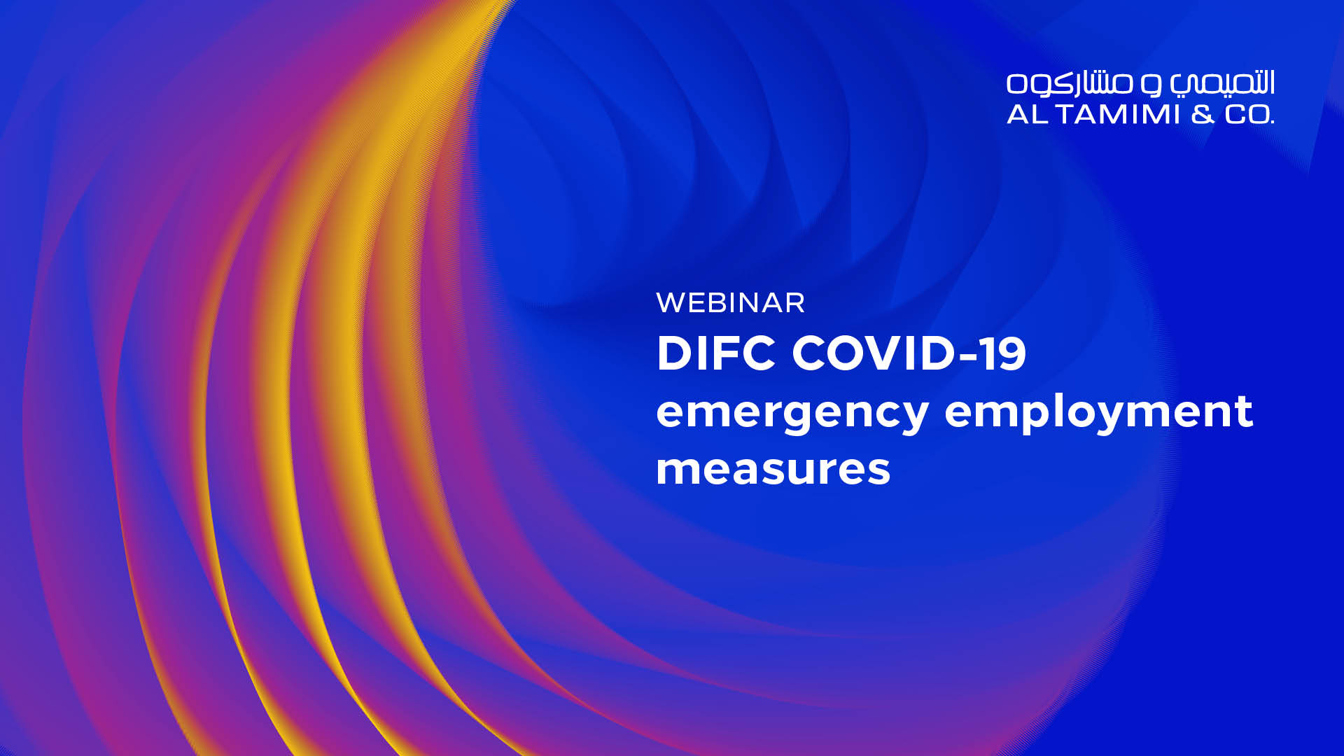 DIFC COVID-19 emergency employment measures